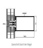 Querschnitt durch den Riegel - MB-SR50N EFEKT